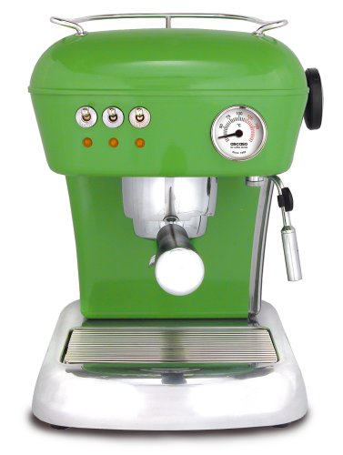 ASCASO DREAM espresso machine meadow green