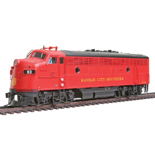 Walthers PROTO 2000 HO Scale Diesel EMD F7A Unit Powered With Sound And DCC - Kansas City Southern #76D
