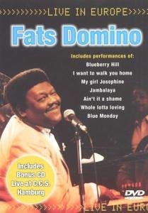 Fats Domino - Live in Europe (Dvd Plus CD) [DVD-AUDIO] - Zortam Music