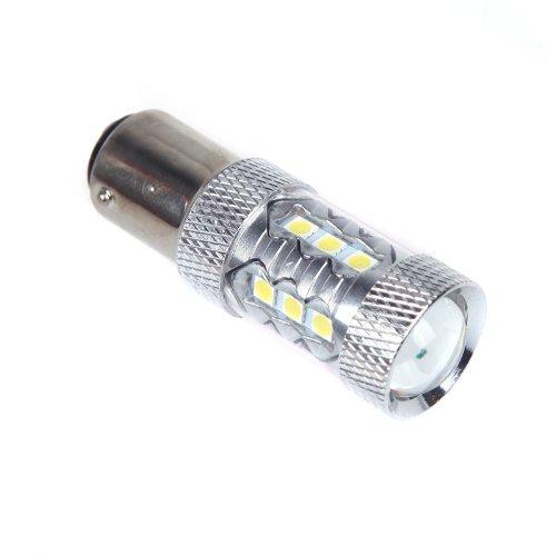 Docooler 80W 1157 Bay15D 16*Osram Led Car Tail Brake Stop Light Bulb Lamp White