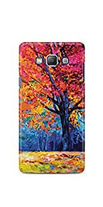 Casenation Autumn Tree Painting Samsung Galaxy A5 Glossy Case