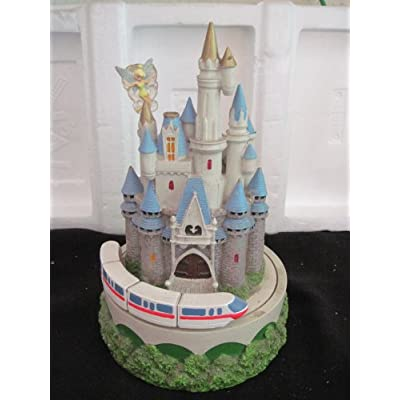 Amazon.com: Disney Cinderella Castle & Monorail Pen Holder Music Box