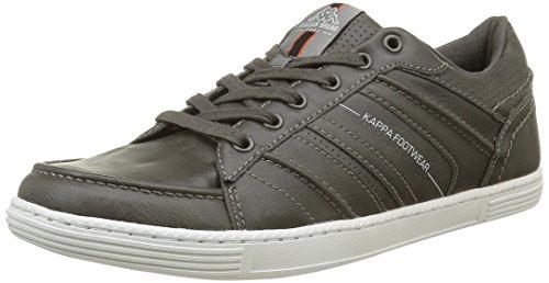 KappaBoomer - Sneaker Uomo , Grigio (Gris (Dk Grey/Burnt Ochre/Vap Grey)), 41
