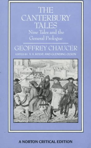 general prologue canterbury tales essays In reading geoffrey chaucer's most dramatic gallery of portraits in the general prologue of his most renowned work, the canterbury tales, one.