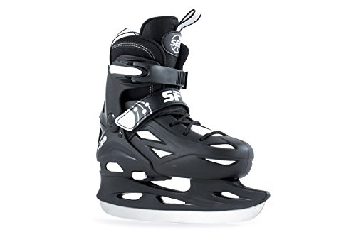sfr-eclipse-adjustable-junior-kids-ice-skates-black-white-3-6