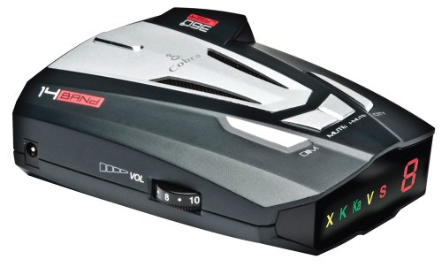 Cobra XRS9370 High Performance Radar/Laser Detector with 360 Degree Protection