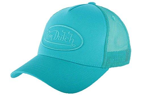 von-dutch-cuffia-baseball-von-dutch-turchese-bm-uomo-donna-blu-taglia-unica