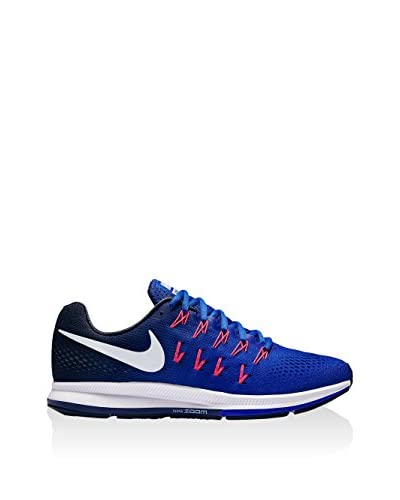 Nike Zapatillas Air Zoom Pegasus 33 Azul / Blanco EU 44.5 (US 10.5)