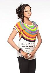 Trendy Girlz Printed AFTERGLOW Tunic