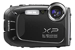 Fujifilm FinePix XP60 - Black (16.4MP, 5x Optical Zoom, Waterproof to 20ft/6m, Shockproof to 5ft/1.5m)