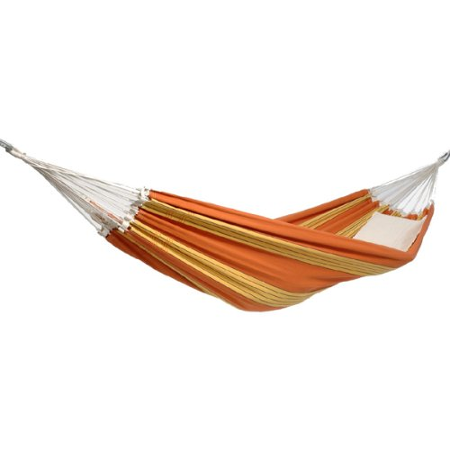 68″ x 101″ Carribico Sunrise Brazilian XXL Double-Size Cotton Hammock