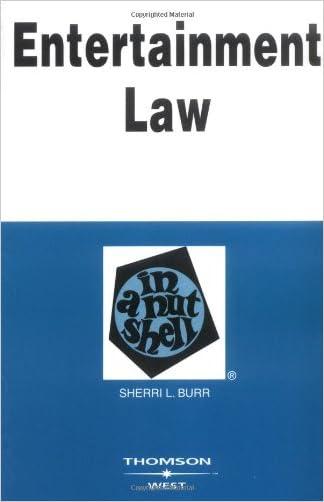 Entertainment Law in a Nutshell (Nutshell Series) (In a Nutshell (West Publishing))