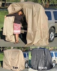 Amazon.com: Portable Dressing Room SUV Tent Tailgating ...