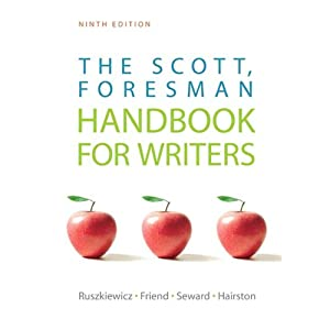 VangoNotes for The Scott, Foresman Handbook for Writers, 9/e | [John Ruszkiewicz, Christy Friend, Maxine E. Hairston, Daniel E. Seward]