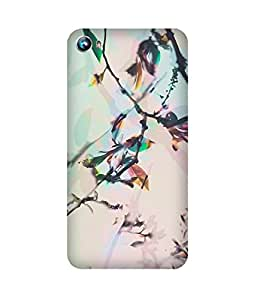 Flower Shadow Micromax Canvas Fire 4 A107 Case