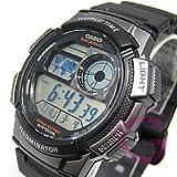 CASIO (カシオ) AE-1000W-1B/AE1000W-1B スポーツ ワールドタイム搭載 メンズウォッチ 腕時計 [並行輸入品]