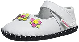 pediped Originals Salome Mary Jane (Infant), White/Multi, Small (6-12 Months E US Infant)