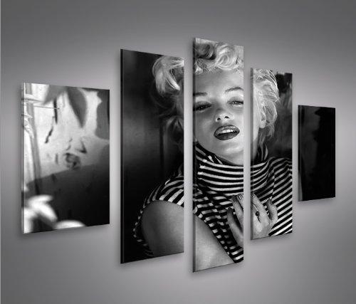 Marilyn monroe v15 5 5 quadri moderni su tela pronti da appendere montata su pannelli in - Quadri da appendere in bagno ...