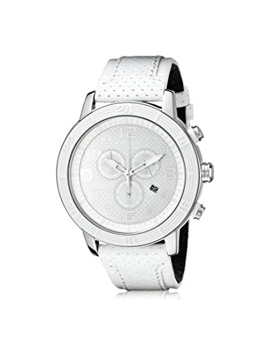 Citizen Women's AT2200-04A Eco-Drive White Leather Watch