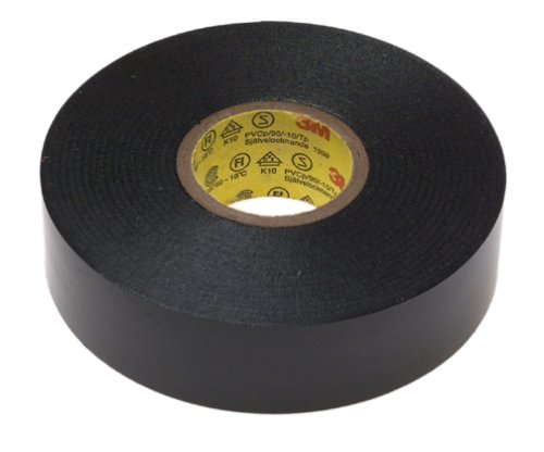 Scotch 6132-BA-10 Super 33+ Vinyl Electrical Tape, 3/4-Inch-by-66-Feet-by-0.007-Inch