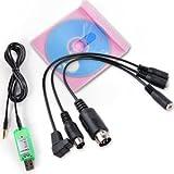 USB Simulator Kabel Interface RC Spektrum DX5e DX6i DX7 Futaba Hubschrauber