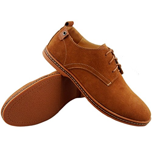 04. DADAWEN Men's Leather Oxford Shoe