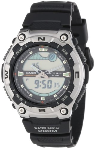 Casio Men's AQW100-1AV Forester Active Dial Sport Watch
