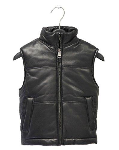 kids-genuine-lambskin-leather-bubble-vest-boys-girls