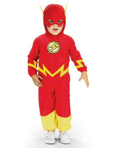 Baby-boys - Flash Toddler Costume Halloween Costume - 2T-4T