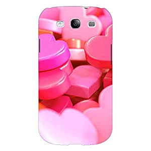Jugaaduu Heart Candies Back Cover Case For Samsung Galaxy Grand Duos I9082