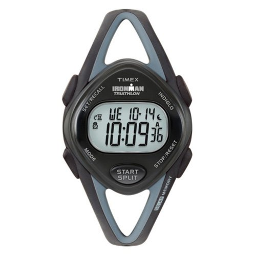Timex Ladies T5K039 Ironman 50-Lap Sleek Digital Resin Strap Watch