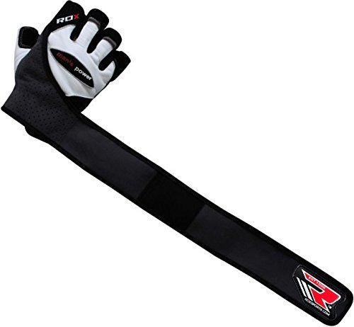 Rdx Leather Weight Lifting Grips Training Gym Straps: Authentic RDX Leather Pro Lift Gel Weight Lifting Body