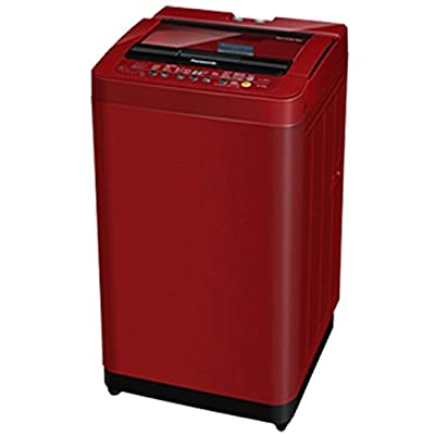 Panasonic NA-F62H5RRB Fully-automatic Top-loading Washing Machine (6.2 Kg, Maroon and White)