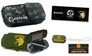 Metal Gear Solid Peace Walker Accessory Set - Sony PSP