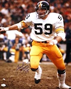 Autographed Jack Ham 16 X 20 Pittsburgh Steelers Photo - Jsa by Main Line Autographs