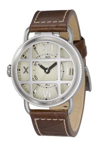 FOSSIL (フォッシル) 腕時計 DRESS FOSSIL 25周年記念復刻モデル Paratrooper パラトルーパー シャンパンゴールドダイアル FS4473 メンズ [正規輸入品]