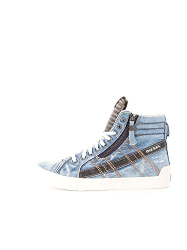 DIESEL Y01169 P0917 D-VELOWS DENIM SNEAKERS Uomo DENIM 42