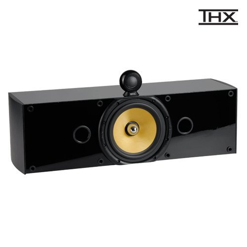 Crystal Acoustics THX Select Certified THX-Center speaker Black Gloss/Black Ash finish Black Friday & Cyber Monday 2014