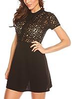 LA BOHEME Vestido Alexia (Negro)