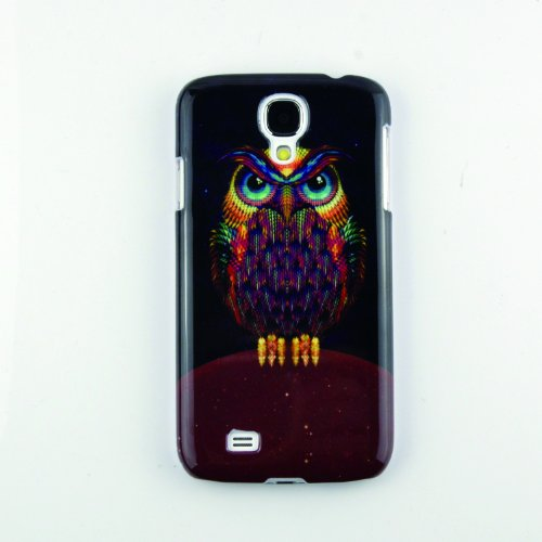 Magicsky Retro Owl Pattern Hard Back Case Cover For Samsung Galaxy S4 Iv I9500 front-927296