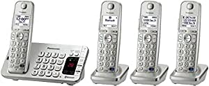 Panasonic KX-TGE274S Link2Cell Bluetooth Enabled Phone with