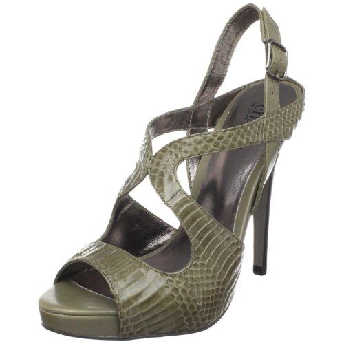 Charles by Charles David Women's Flight Ankle-Strap Sandal,Grey,5 M US