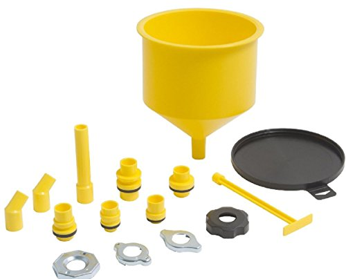 spill-free-funnel-kit-car-oil-transmission-fluid-radiator-cap-coolant-fill-flush-new