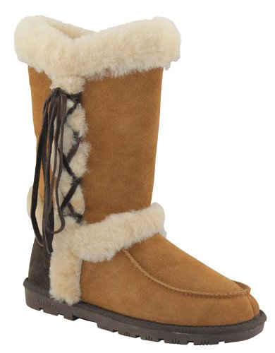 Lamo Sheepskin Boots Women's Chestnut Sonic (6)