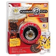 Kansas City Railroad Pocket Watch (As Seen On TV) - 1