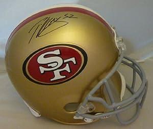 Patrick Willis Autographed San Francisco 49ers Full Size Deluxe Replica Helmet by DenverAutographs