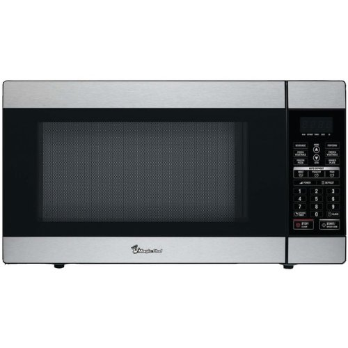 Brand New Magic Chef 1.8 Cubic-Ft, 1,100-Watt Stainless Microwave With Digital Touch