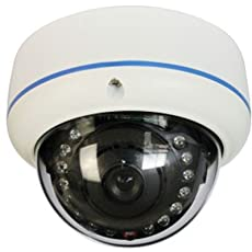 CCTV CMOS 800tvl Built-in IR-Cut Security Dome Camera EDS-DIP800
