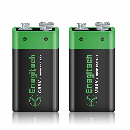 Powermall 600mAh 9V Lithium Battery for Smoke Detectors, Professional Audio and Medical Devices 2 Pack (Zoom Energy Pack compare prices)