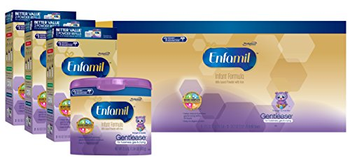 Enfamil Gentlease Baby Formula – 118.1oz Powder Combo Pack